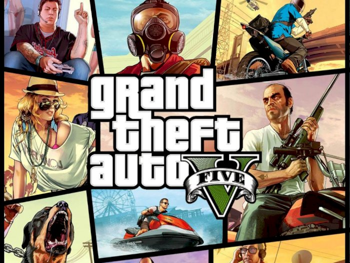 Rumor: Grand Theft Auto V Bakal Digratiskan oleh Epic Games Store!