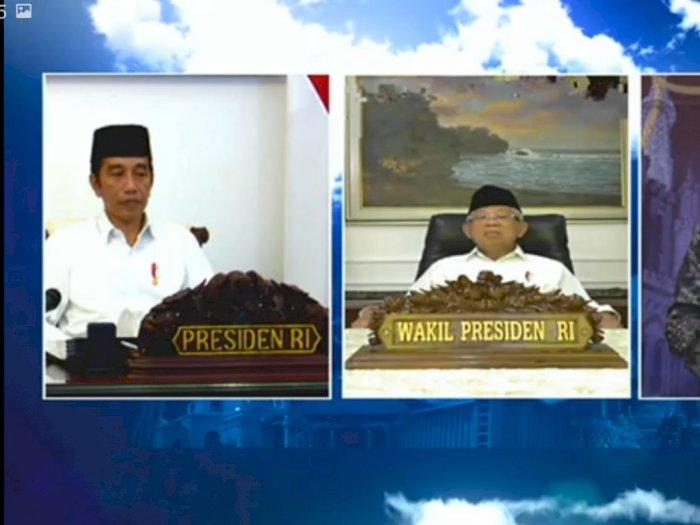 Jokowi-Ma'ruf Amin Gelar Doa Kebangsaan dan Kemanusiaan Secara Virtual