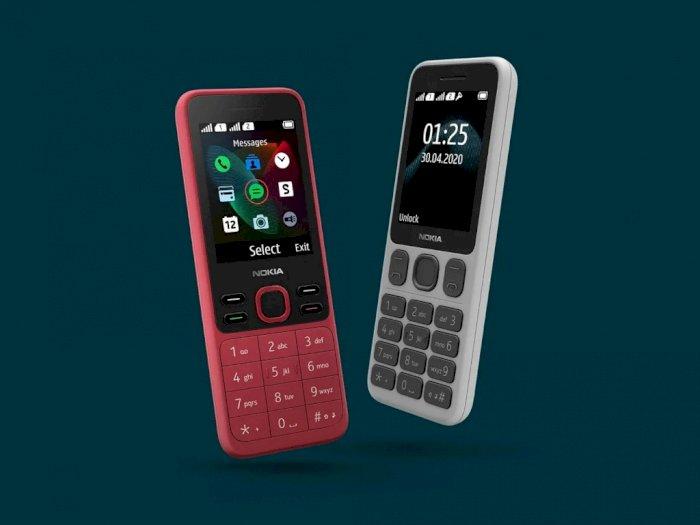HMD Global Rilis Nokia 125 dan Nokia 150 Sebagai 2 Ponsel Fitur Barunya