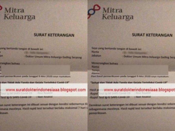 Surat Bebas Corona Dijual Bebas, Tokopedia dan Bukalapak Langsung Bertindak