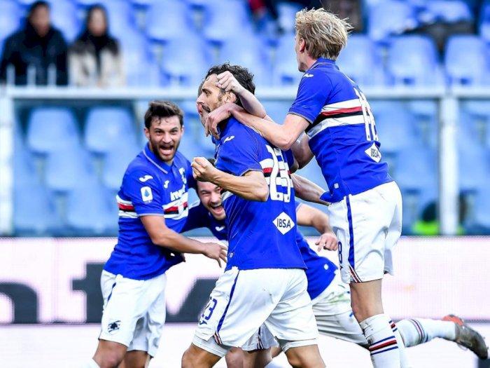Empat Pemain Sampdoria Dinyatakan Negatif Virus Corona