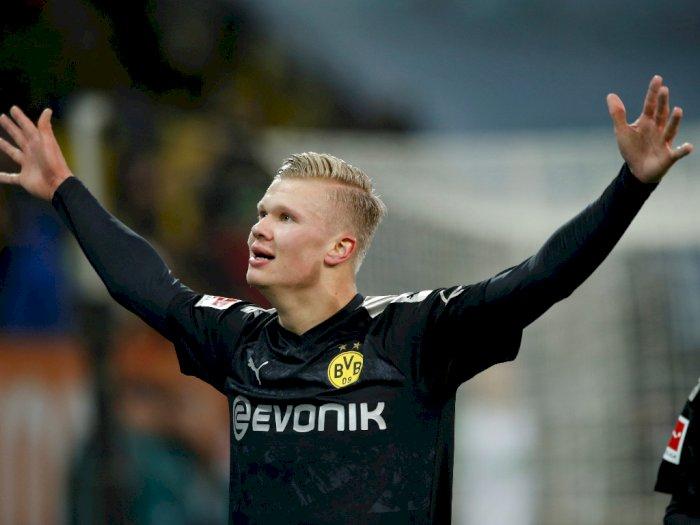 Lewandowski Sarankan Haaland Untuk Bertahan di Liga Jerman