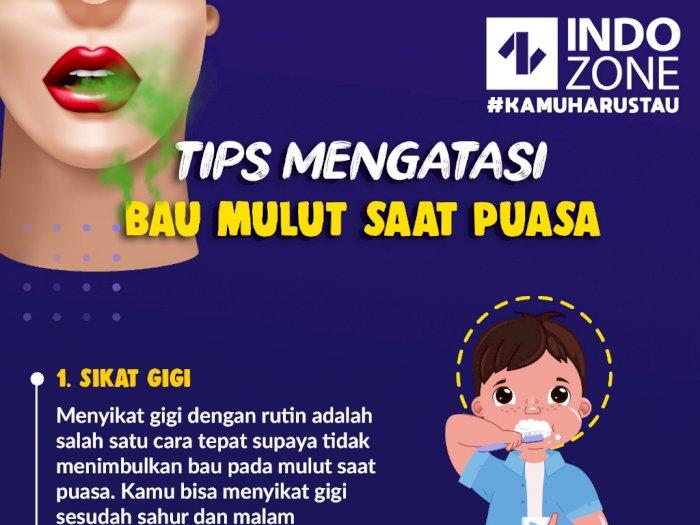Tips Mengatasi Bau Mulut Saat Puasa