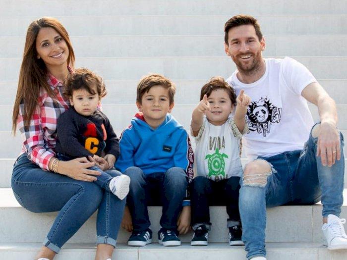 Dampak Positif Corona Bagi Messi, Jadi Punya Waktu Lebih Untuk Keluarga