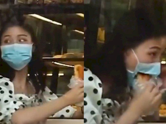 Viral Wanita Nyoba Makan Tanpa Lepas Masker, Endingnya Bikin Tercengang