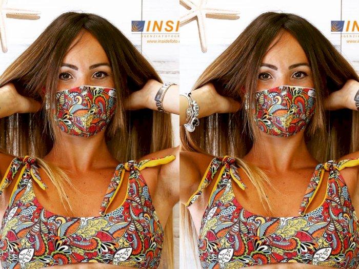 Desainer Italia Bikin Baju Renang yang Dilengkapi Masker