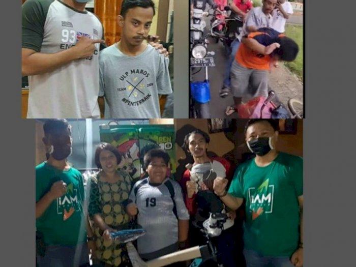 RZ Bocah Penjual Gorengan Korban Bullying Dapat Hadiah Sepeda Baru, Tapi Bukan dari Jokowi