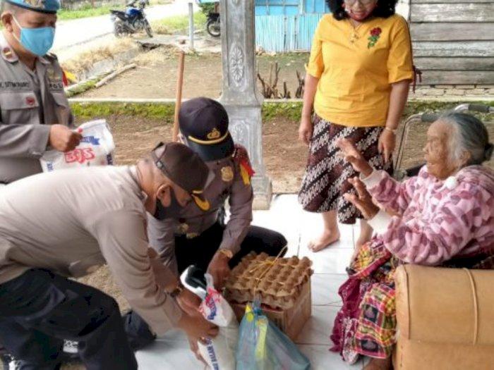 Nelly Manullang, Oppung Berusia 98 Tahun di Dairi Akhirnya Terima Bansos
