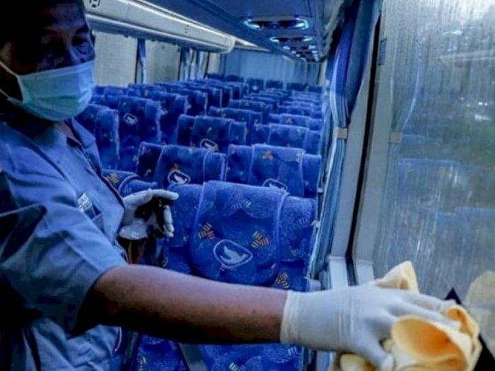 Manajemen Blue Bird Bantah Selebaran Mudik Sehat PSBB yang Viral