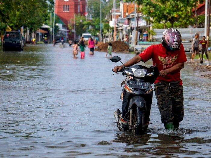 Kali Ciliwung Meluap, 18 RW di Jakarta Kebanjiran