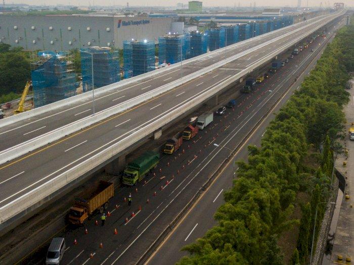 Jakarta Larang Mudik Lokal, Polda Metro Maksimalkan Cek Poin di Perbatasan