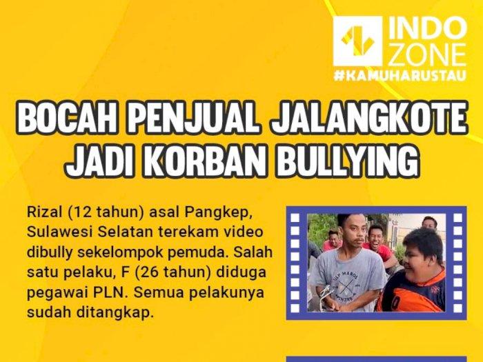 Bocah Penjual Jalangkote Jadi Korban Bullying