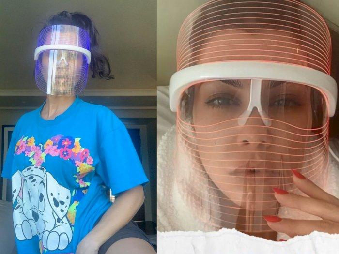 Rilis Face Shield Rp2,8 Juta, Produk Kourtney Kardashian Bikin Warganet Heran