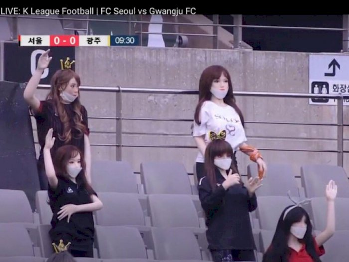 Diduga Pakai Boneka Seks Sebagai Pengganti Suporter, FC Seoul Minta Maaf