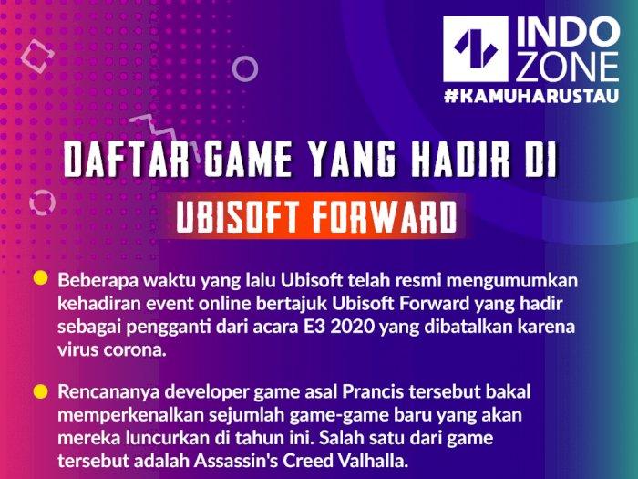 Daftar Game yang Hadir di Ubisoft Forward