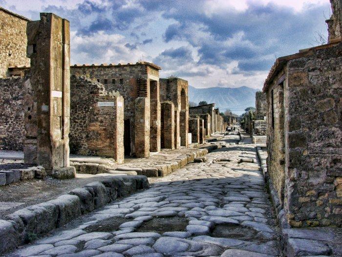 Mengulik Sejarah Pompeii, Kota Romawi Kuno Dikutuk karena Perzinaan