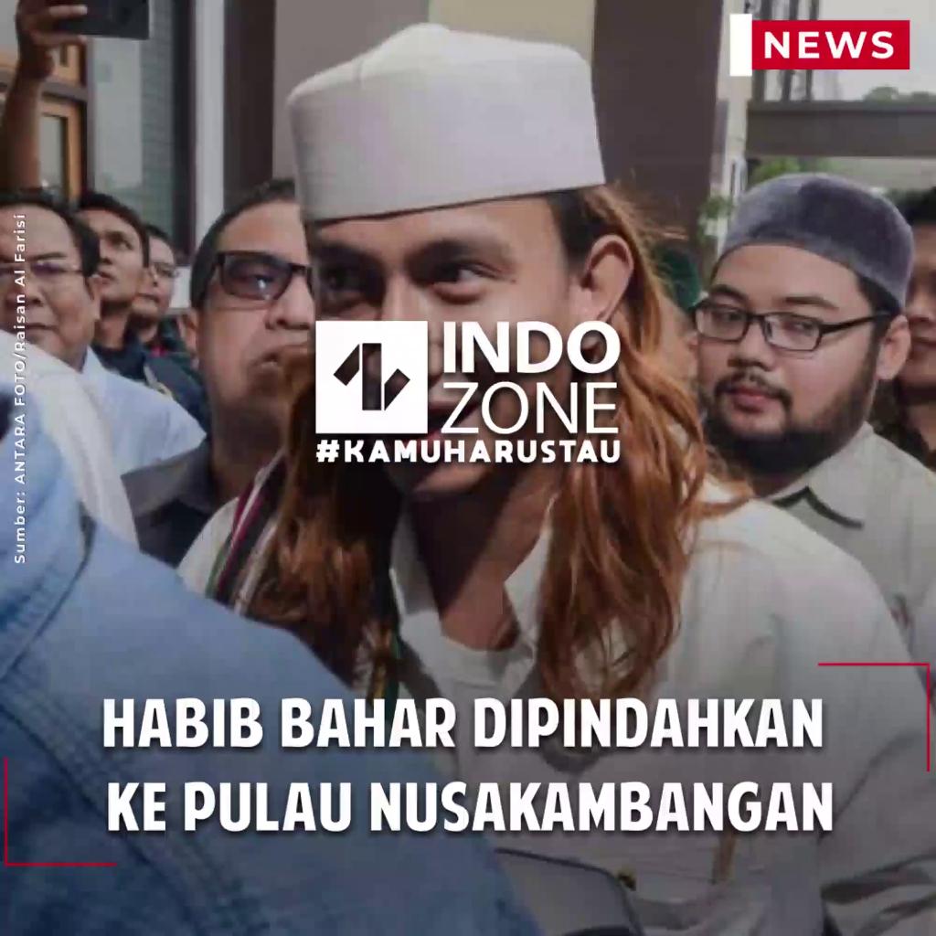 Habib Bahar Dipindahkan ke Pulau Nusakambangan