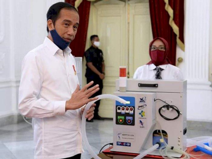 Presiden Jokowi Pamerkan 55 Produk Alkes Karya Anak Bangsa untuk Tangani Covid-19