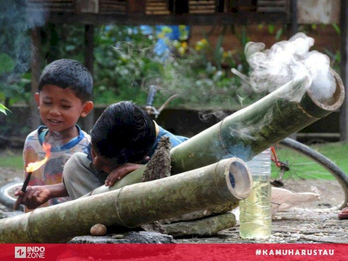 Meriam Buluh Permainan Tradisional Di Hari Besar Indozone Id