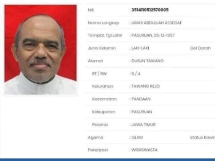 Netizen Ungkap Sosok Habib Umar Assegaf Arogan dan Intoleran, Serta Pakai Plat Palsu