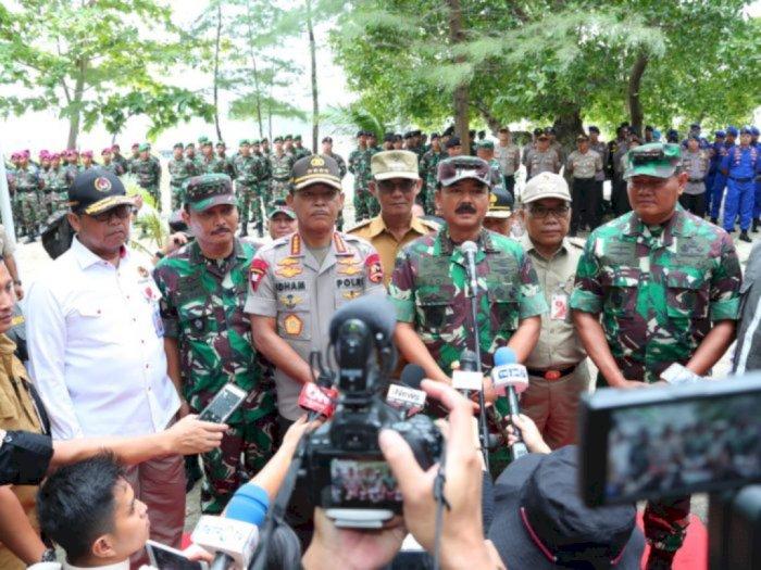 Imbauan Panglima TNI-Kapolri: Silaturahmi Tanpa Jabat Tangan Tapi Saling Doakan
