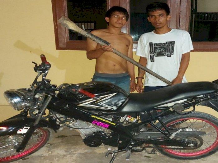Dua Pemuda Asal Labuhanbatu Diringkus Polisi karena Curi Perhiasan Emas