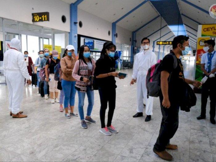 KBRI Colombo Pulangkan 211 WNI ke Indonesia Menjelang Lebaran