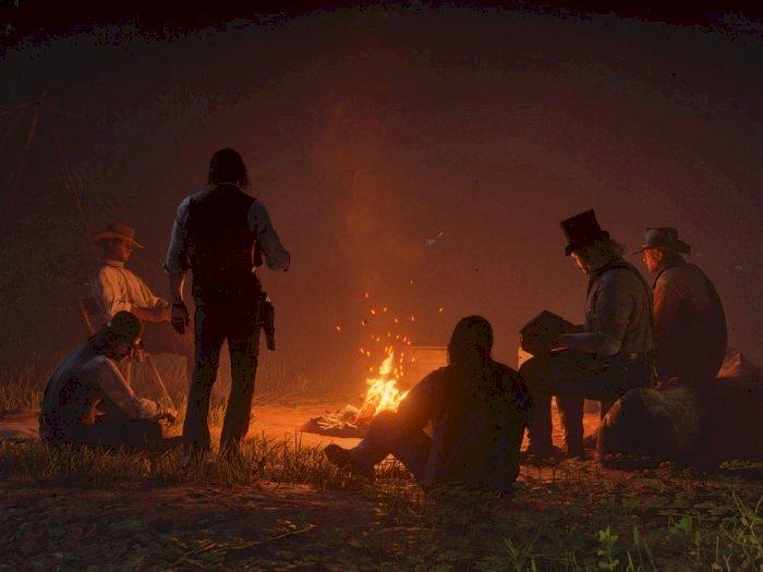 Bosan Pakai Zoom, Seniman Ini Gelar Meeting di Red Dead Redemption 2!
