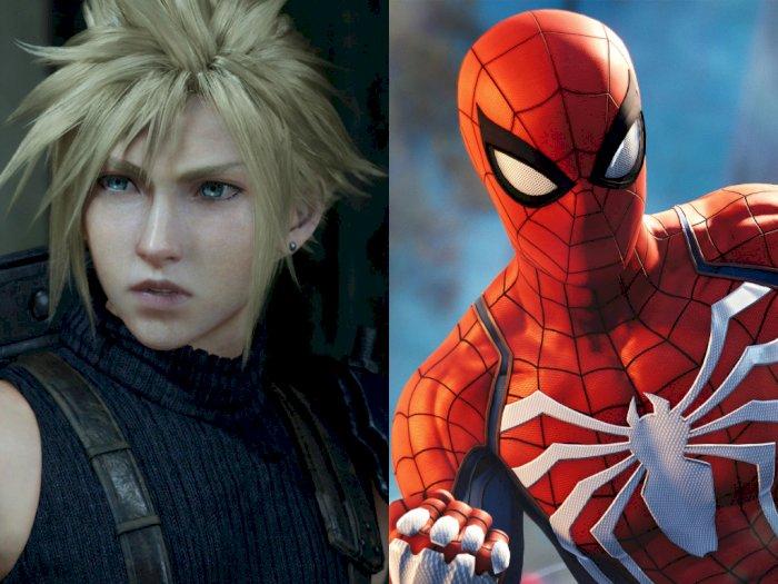 Penjualan Final Fantasy VII Remake Salip Spider-Man di PlayStation 4!