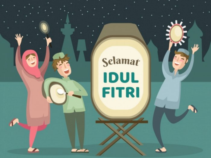 40 Ucapan Selamat Hari Raya Idul Fitri 1441 H/2020, Bahasa Indonesia dan Inggris