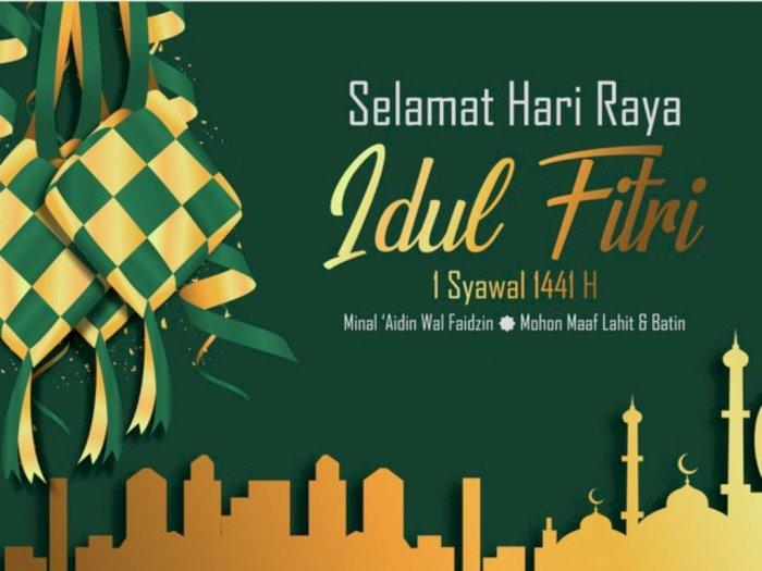 Kumpulan Ucapan Selamat Lebaran Idul Fitri 1441 H via WhatsApp, Facebook dan Instagram