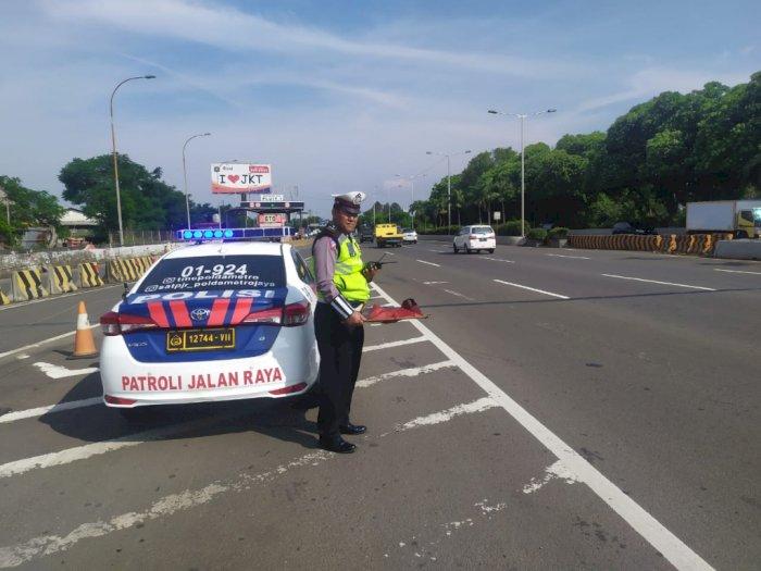 Arus Lalu Lintas di Jakarta Lengang saat Lebaran