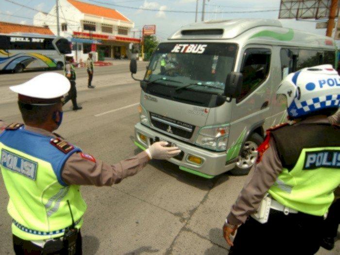 Total Sudah 605 Kendaraan Travel Gelap Diamankan Polisi