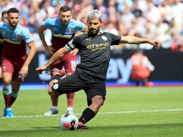 Sergio Aguero Tegaskan Bertahan di City Sampai 2021