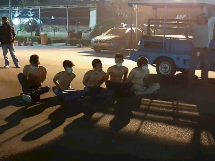 6 Remaja Diciduk Petugas Usai Pesta Miras di Malam Takbiran