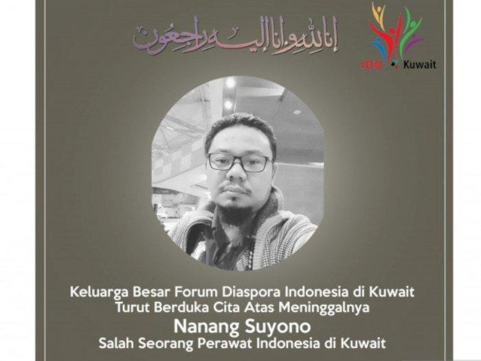 Perawat Asal Indonesia yang Berada di Kuwait Meninggal Dunia Karena Covid-19
