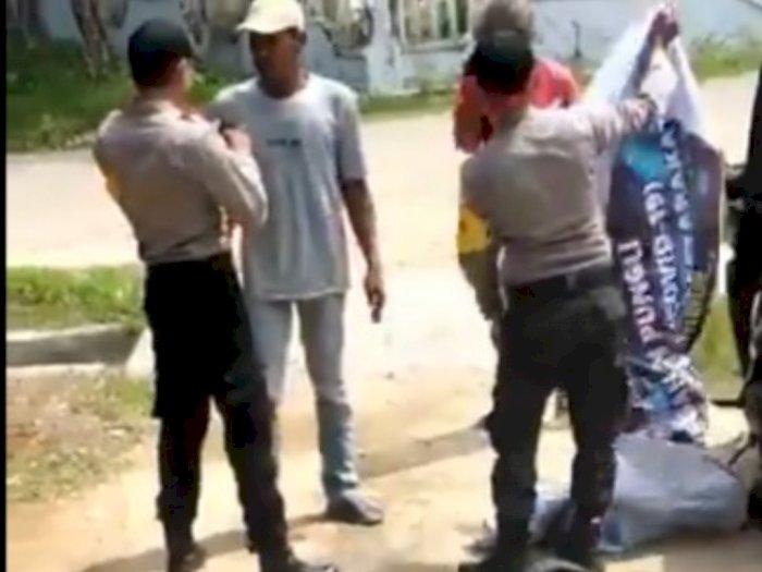 Viral Video 2 Oknum Polisi Aniaya Orang Gangguan Jiwa, Ini Kata Polda Aceh
