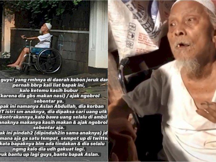 Dipaksa Mengemis Keluarga Sendiri dan Kerap Dipukul Istri, Kakek Ini Berdoa Nyawa Dicabut