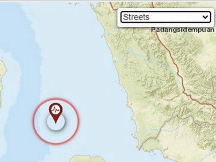 Gempa Bumi Guncang Empat Kabupaten di Sumatera dan Aceh