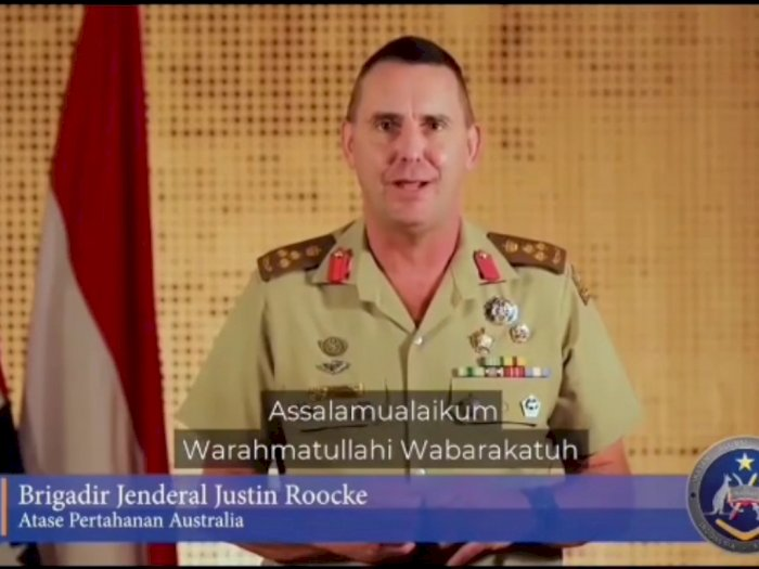 Brigjen Athan Australia Justin Roocke Ucapkan Selamat Idul Fitri, Ini Harapannya