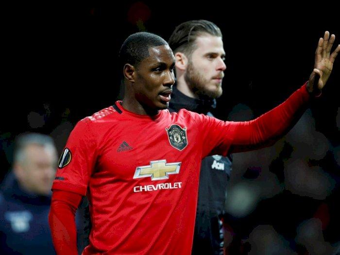 Odion Ighalo Segera Hengkang dari Manchester United
