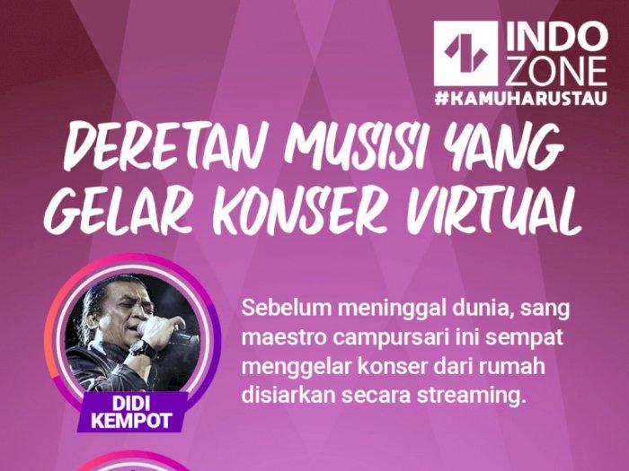 Deretan Musisi yang Gelar Konser Virtual
