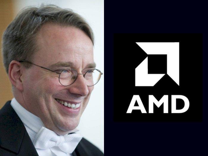 Tinggalkan Intel, Pencipta Sistem Operasi Linux Kini Beralih ke AMD!