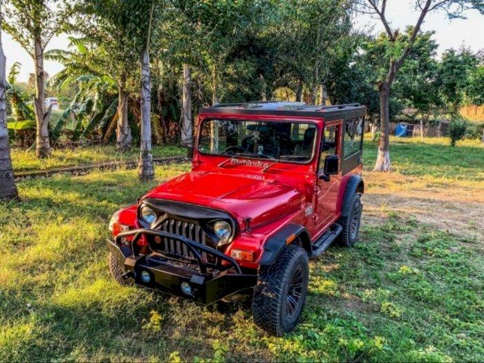 Modifikasi SUV Mahindra Thar, Macho Layaknya Jeep
