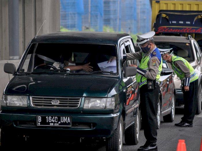 Hingga Hari Kedua Lebaran, 111 Ribu Kendaraan Masuk Jakarta Via Tol