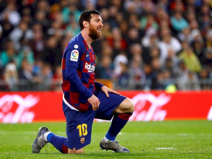 Presiden Barcelona Yakin Messi Bisa Main Sampai Usia 45 Tahun
