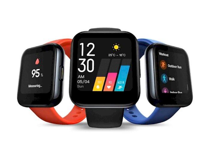 Realme Watch Resmi Meluncur, Kloningan Apple Watch Seharga Rp700 Ribuan