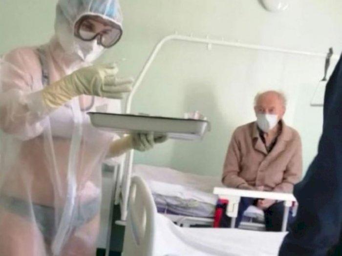 Perawat Pakai APD Menerawang Perlihatkan Bikini Tak Jadi Dihukum