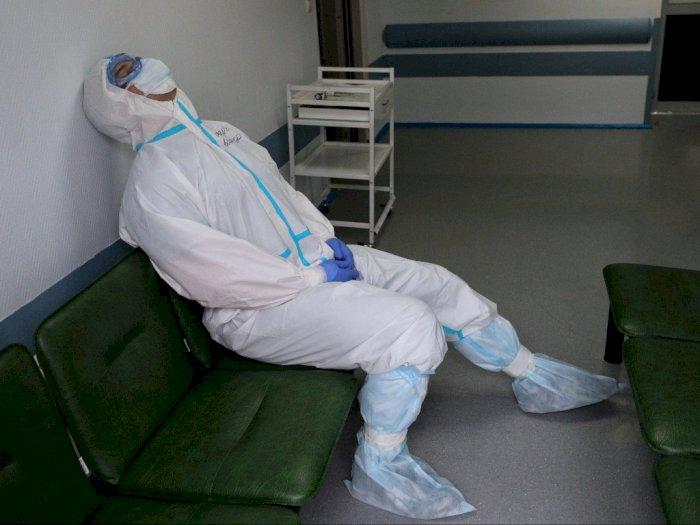 Rusia Umumkan 101 Petugas Kesehatan Meninggal Akibat Terinfeksi Covid-19