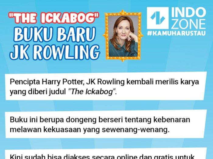 The Ickabog, Buku Baru JK Rowling